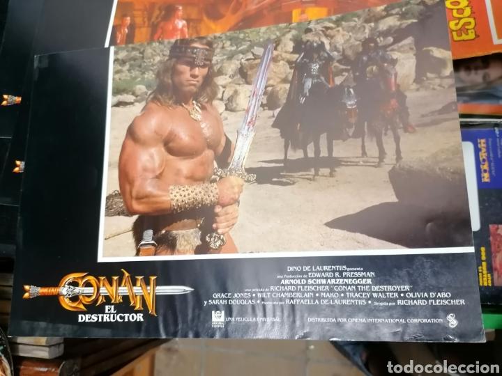 Cine: Conan El Bárbaro Película lote 6 Fotogramas Promocionales Original 1982 - Foto 6 - 215348270