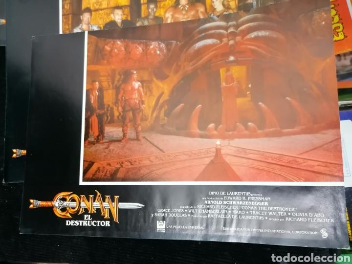Cine: Conan El Bárbaro Película lote 6 Fotogramas Promocionales Original 1982 - Foto 7 - 215348270
