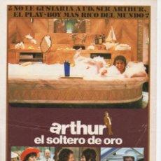 Cine: ARTHUR EL SOLTERO DE ORO. Lote 215690270