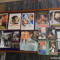 Cine: LOTE 41 ITEMS CINE CARCELARIO GUÍAS PUBLICITARIAS FOLLETOS DE MANO CARÁTULAS FOTOS AMPLIADO 11-12-20. Lote 216959470