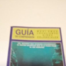 Cine: G-36 LIBRO GUIA DE COMPRENSION MODISMOS LOCALISMOS GIROS COLOQUIALES ABYSS THE. Lote 217174518