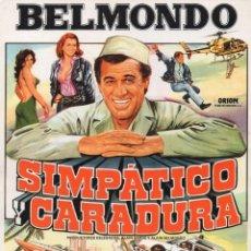 Cine: SIMPATICO CARADURA. Lote 218079997