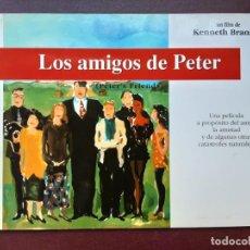 Cine: LOS AMIGOS DE PETER, KENNETH BRANAGH, GUIA CON 16 PÁGINAS. Lote 218081017