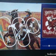 Cine: BRONCO BILLY, CLINT EASTWOOD, GUIA WARNER AMERICANA, 1980. Lote 218081818