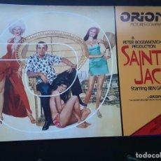 Cine: SAINT JACK, BEN GAZZARA, GUIA ORION AMERICANA, 1979. Lote 218082508