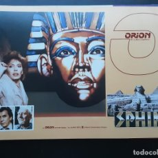 Cine: SPHINX, MAURICE RONET, GUIA ORION AMERICANA, 1981. Lote 218083792