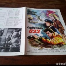 Cine: ESCUADRON 633 - CLIFF ROBERTSON, GEORGE CHAKIRIS - GUIA ORIGINAL DIPENFA JANO. Lote 218911037