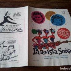 Cine: LA REVISTA SOÑADA - TEDDY RENO, SUSI NUCOLETTI - GUIA ORIGINAL COLUMBUS AÑO 1961 MAC. Lote 218912870
