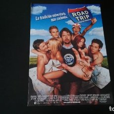 Cine: GUÍA PUBLICITARIA - ROAD TRIP - BRECKIN MEYER, SEAN WILLIAM SCOTT. Lote 218921893