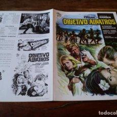 Cine: OBJETIVO ALBATROS - HORST FRANK,, JOACHIM HANSEN, EVA MONTEZ - GUIA ORIGINAL CIRE FILMS AÑO 1969. Lote 218959250