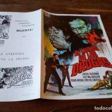 Cine: EL MUNDO DE LAS DROGAS - JULIO ALDAMA, LUZ Mª AGUILAR - GUIA ORIGINAL C.I.C FILMS AÑO 1971. Lote 218961743