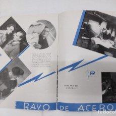 Cine: CATALOGO DE CINE. EXCLUSIVAS DIANA - TEMPORADA 1935-1936. PAGINAS 22.. Lote 219508505