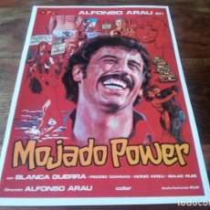 Cine: MOJADO POWER - ALFONSO ARAU, BLANCA GUERRA, PEDRO DAMIÁN - GUIA ORIGINAL PELIMEX AÑO 1979. Lote 219547213