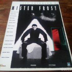 Cinéma: MISTER FROST - JEFF GOLDBLUM, ALAN BATES, KATHY BAKER - GUIA ORIGINAL FILMAX AÑO 1990. Lote 219548843