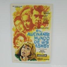 Cine: GUÍA DE LA PELÍCULA, EL ALUCINANTE NOMBRE DE LOS ASHBY JANETTE SCOTT, OLIVER REED. Lote 219638907