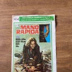 Cine: GUIA PUBLICITARIA MANO RAPIDA - SPAGETHI WESTERN. Lote 220439232