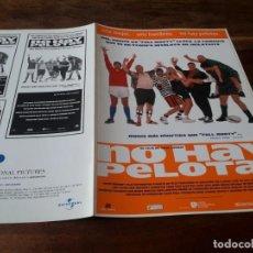 Cine: NO HAY PELOTAS - GARY OLSEN, RICHARD RIDINGS, SAMANTHA WOMACK - GUIA ORIGINAL ARABA AÑO 1997. Lote 220506283