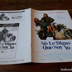 Cine: NO LE DIGAS QUE SOY YO - STEVE GUTTENBERG, JAMI GERTZ, SHELLEY LONG - GUIA ORIGINAL LAUREN AÑO 1990. Lote 220589677