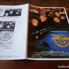 Cine: NAVY SEALS, COMANDO ESPECIAL - CHARLIE SHEEN, MICHAEL BIEHN - GUIA ORIGINAL LAUREN AÑO 1990. Lote 220589976