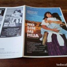 Cine: NO SIN MI HIJA - SALLY FIELD, ALFRED MOLINA, SHEILA ROSENTHAL - GUIA ORIGINAL U,I,P AÑO 1990. Lote 220605822