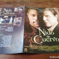 Cine: NIDO DE CUERVOS - CUBA GOODING JR., TOM BERENGER - GUIA ORIGINAL TRIPICTURES AÑO 1999. Lote 220606165