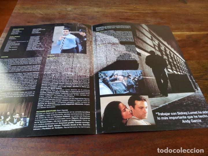 Cine: La noche cae sobre Manhattan - Andy García,Richard Dreyfuss,Lena olin guia original filmax año 1996 - Foto 2 - 220606457