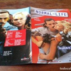 Cine: NORMAL LIFE - ASHLEY JUDD, LUKE PERRY, JOHN MCNAUGHTON - GUIA ORIGINAL FILMAX AÑO 1997. Lote 220606658