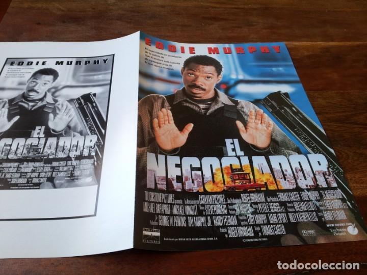 EL NEGOCIADOR - EDDIE MURPHY, MICHAEL RAPAPORT, CARMEN EJOGO - GUIA ORIGINAL BUENAVISTA AÑO 1997 (Cine - Guías Publicitarias de Películas )