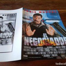 Cine: EL NEGOCIADOR - EDDIE MURPHY, MICHAEL RAPAPORT, CARMEN EJOGO - GUIA ORIGINAL BUENAVISTA AÑO 1997. Lote 220607116