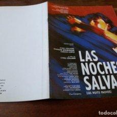 Cine: LAS NOCHES SALVAJES - CYRIL COLLARD, ROMANE BOHRINGER - GUIA ORIGINAL SURF FILMS AÑO 1992. Lote 220607361
