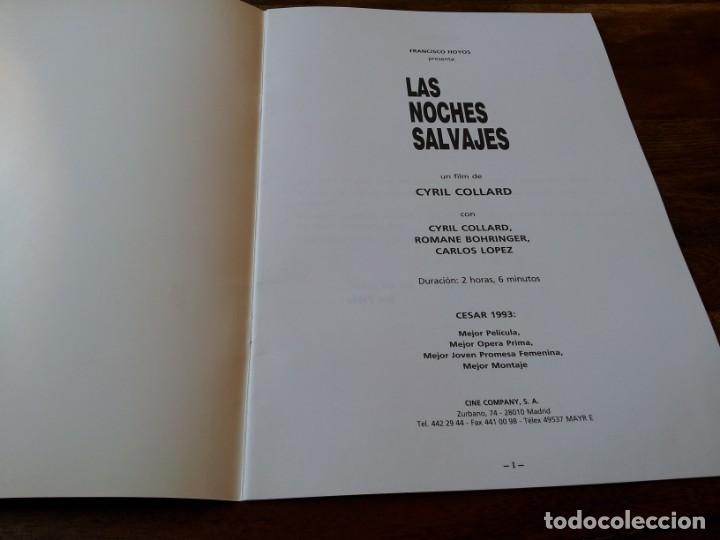 Cine: Las noches salvajes - Cyril Collard, Romane Bohringer - guia original surf films año 1992 - Foto 2 - 220607361