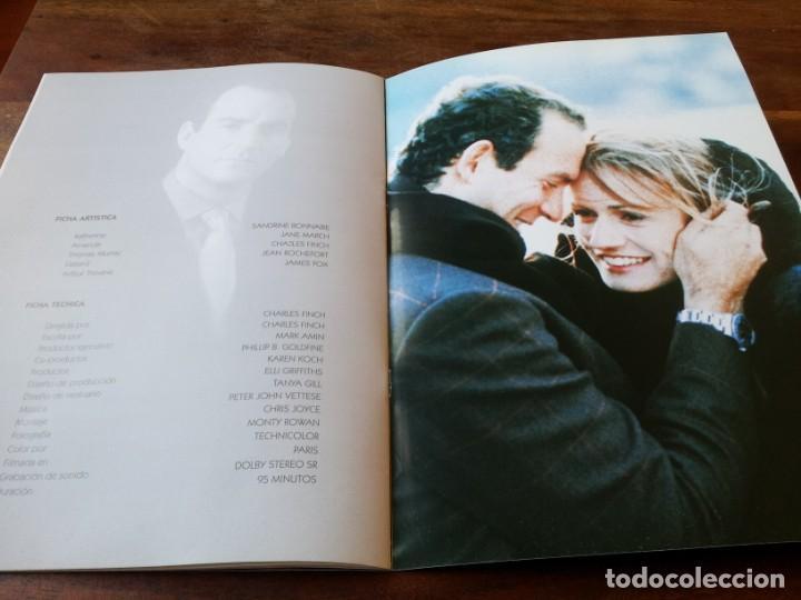 Cine: Nunca jamás - Sandrine Bonnaire, Jane March, James Fox - guia original de lujo araba año 1997 - Foto 10 - 220608250