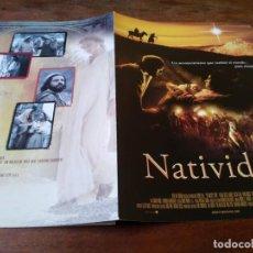 Cine: NATIVIDAD - KEISHA CASTLE-HUGHES, OSCAR ISAAC, SHOHREH AGHDASHL - GUIA ORIGINAL TRIPICTURES AÑO 2006. Lote 220608980