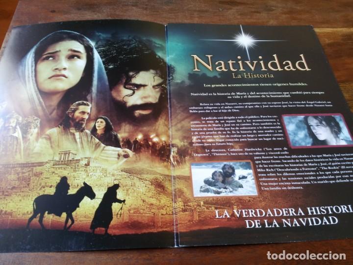 Cine: Natividad - Keisha Castle-Hughes, Oscar Isaac, Shohreh Aghdashl - guia original tripictures año 2006 - Foto 2 - 220608980