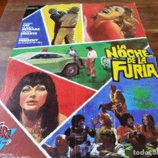 Cine: LA NOCHE DE LA FURIA - GLEN LEE, MARIA PERSCHY, BLANCA ESTRADA - GUIA ORIGINAL CIRE AÑO 1974. Lote 220610142