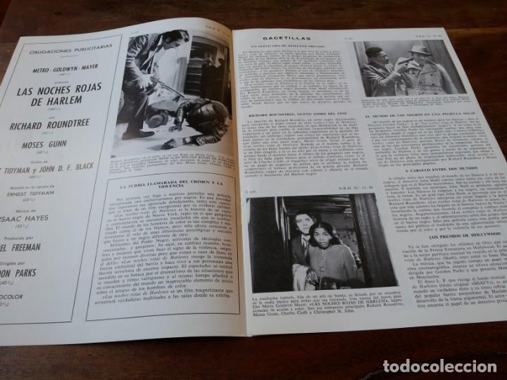 Cine: Las noches rojas de Harlem - Richard Roundtree, Moses Gunn - guia original m.g.m año 1972 - Foto 2 - 220610390