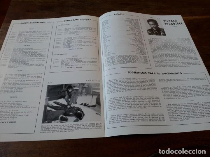 Cine: Las noches rojas de Harlem - Richard Roundtree, Moses Gunn - guia original m.g.m año 1972 - Foto 4 - 220610390