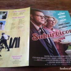 Cinéma: SUBURBICON - MATT DAMON, JULIANNE MOORE, OSCAR ISAAC - GUIA ORIGINAL DEAPLANETA AÑO 2017. Lote 221131971