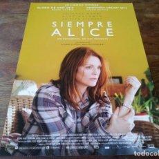 Cinéma: SIEMPRE ALICE - JULIANNE MOORE, ALEC BALDWIN, KRISTEN STEWART - GUIA ORIGINAL GOLEM 2014. Lote 221607793