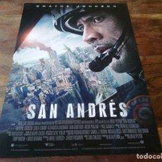 Cinéma: SAN ANDRES - DWAYNE JOHNSON, ALEXANDRA DADDARIO, CARLA GUGINO - GUIA ORIGINAL WARNER 2015. Lote 221610136