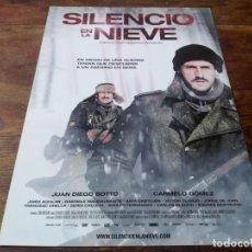 Cinéma: SILENCIO EN LA NIEVE - JUAN DIEGO BOTTO, CARMELO GÓMEZ, VÍCTOR CLAVIJO - GUIA ORIGINAL ALTA 2011. Lote 221610515