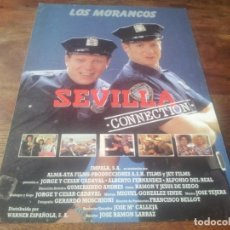 Cine: SEVILLA CONNECTION - LOS MORANCOS, ALFONSO DEL REAL, ANTONIO GAMERO - GUIA ORIGINAL WARNER 1992. Lote 221695086