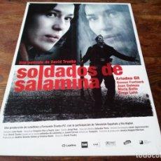 Cinéma: SOLDADOS DE SALAMINA - ARIADNA GIL,RAMÓN FONTSERÈ,JOAN DALMAU,MARÍA BOTTO - GUIA ORIGINAL U.I.P 2003. Lote 221905313