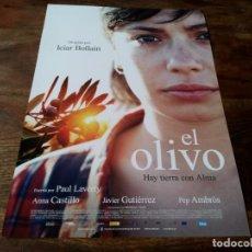 Cine: EL OLIVO - ANNA CASTILLO, JAVIER GUTIÉRREZ, PEP AMBRÒS, ICIAR BOLLAIN - GUIA ORIGINAL EONE 2016. Lote 221934812