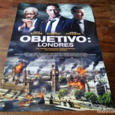 Cinéma: OBJETIVO: LONDRES - GERARD BUTLER, AARON ECKHART, MORGAN FREEMAN - GUIA ORIGINAL EONE 2016. Lote 221935225