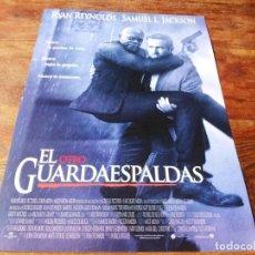 Cine: EL OTRO GUARDAESPALDAS - RYAN REYNOLDS, SAMUEL L. JACKSON, SALMA HAYEK - GUIA ORIGINAL WARNER 2017. Lote 221937372
