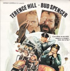 Cine: DOS SUPER POLICIAS / TERENCE HILL - 1977. Lote 221940307