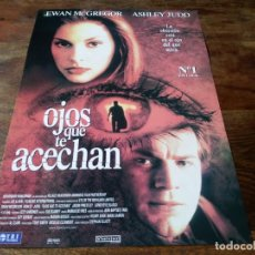 Cine: OJOS QUE TE ACECHAN - EWAN MCGREGOR, ASHLEY JUDD, JASON PRIESTLEY - GUIA ORIGINAL TRIPICTURES 1999. Lote 221940436