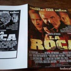Cinéma: LA ROCA - SEAN CONNERY, NICOLAS CAGE, ED HARRIS, MICHAEL BIEHN - GUIA ORIGINAL BUENAVISTA 1996. Lote 222071736