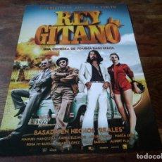 Cinéma: REY GITANO - KARRA ELEJALDE, MANUEL MANQUIÑA, ARTURO VALLS, MARÍA LEÓN - GUIA ORIGINAL EONE 2015. Lote 222115105